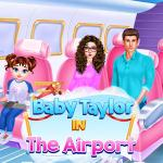 Baby Taylor In The Airport