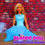 Blonde Doll Fashion Style Puzzle