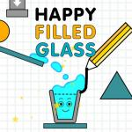 Happy Filled Glass