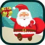 Pixel Santa Run